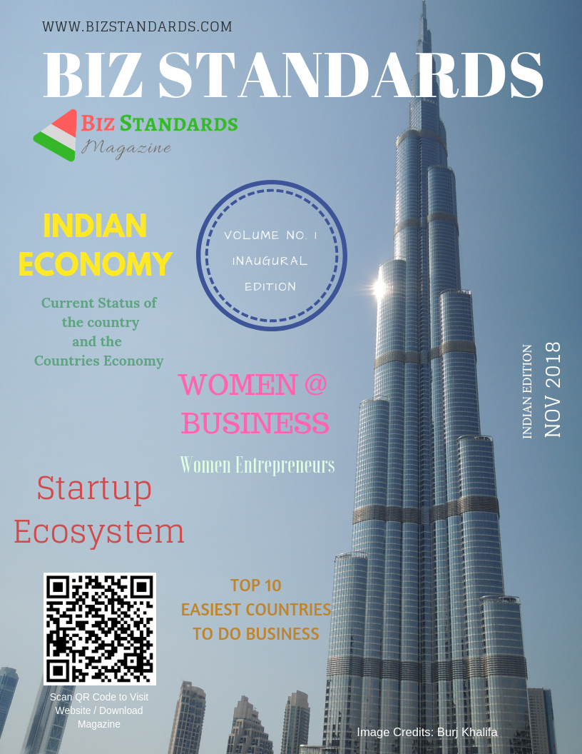 November 2018 Biz Standards E-Magazine