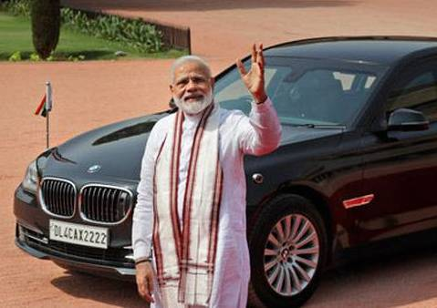 Prime Minister Narendra Modi does not own a car or bike