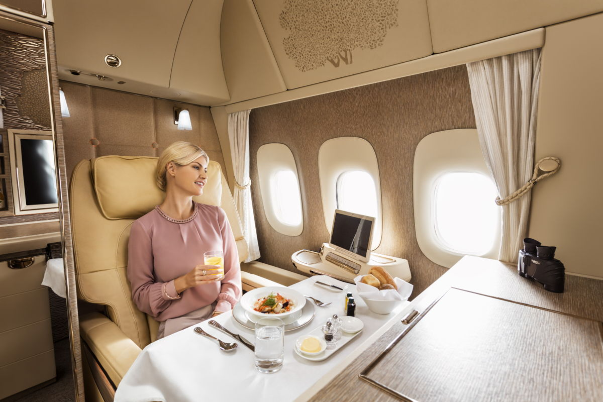 Emirates� Game Changer First Class Suite to debut on Vienna route