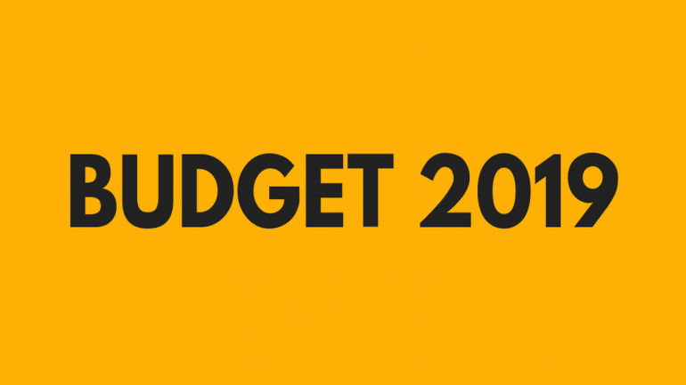 HIGHLIGHTS OF BUDGET 2019